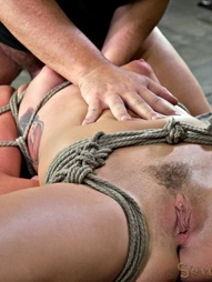 Mid Western girl Suffers Category 5 bondage, pic #9
