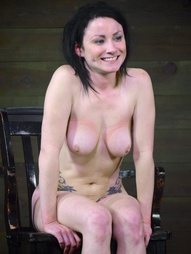 Shackled,chained and facefucked, pic #15