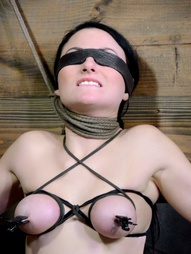 Shackled,chained and facefucked, pic #5