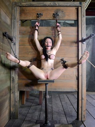 Shackled,chained and facefucked, pic #8