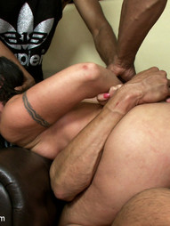 Horny slut orders gang bang delivery, pic #11
