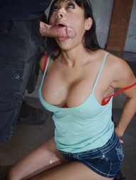 Big breasted Asian destroyed by dick, pic #8