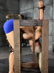 Restrained in strict bondage, pic #11