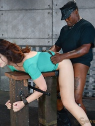 Sarah Shevon restrained and used, pic #14