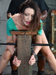 Sarah Shevon restrained and used, pic #15