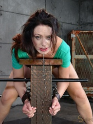 Sarah Shevon restrained and used, pic #3