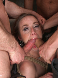 Queen pussy stuffed chock full of cock, pic #8